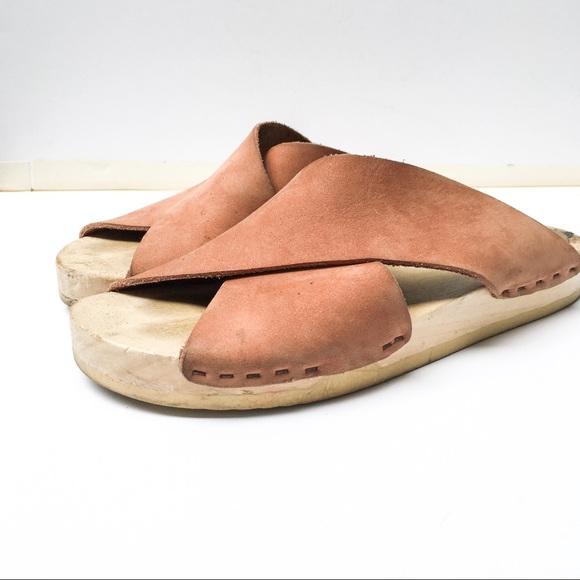 6a0b68359b0 6 Shoes - No. 6 Flat Clog - Blush - 37